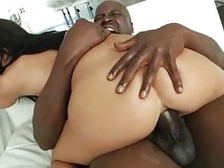 Black Cock Balls Deep In Ass