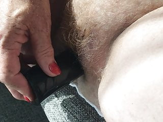 My Mature Red Hairy Wife And Her Little Black Friend 3