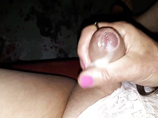 Sissy Slut Jerking Off At Adult Theater