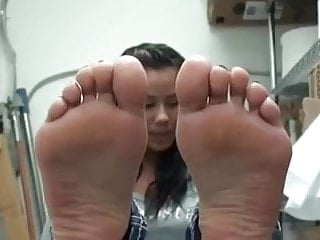 Cute Spanish Girl With Sexy Feet