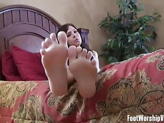 I Want To Try Giving A Footjob On You