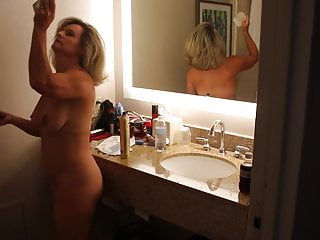 Hot Milf Naked In Bathroom