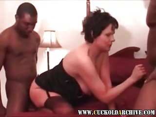 Cuckold Archive Sissys Wife And 2 Bbc Bulls He Is Humiliated