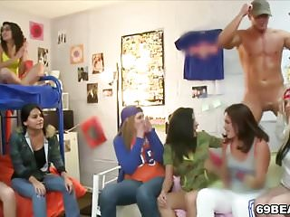 Male Stipper Party With College Teens