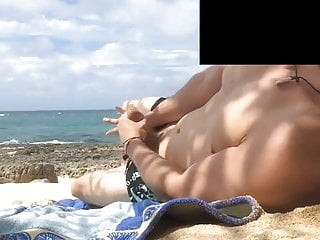 Cum On Beach